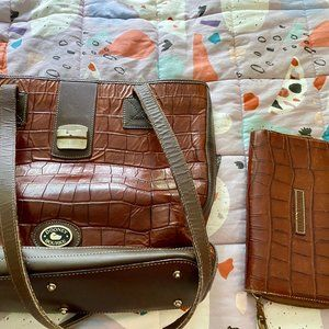 Dooney & Bourke Leather Bag and Wallet
